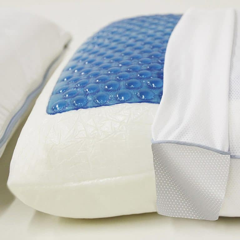 Classic Brands Reversible Cool Gel Memory Foam Pillow Bed Pillows