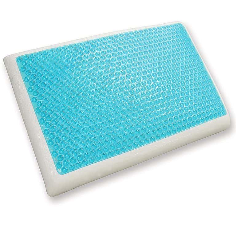 Classic Brands Reversible Cool Gel Memory Foam Pillow Bedding Product