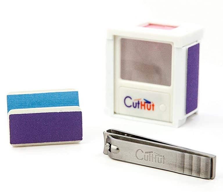 CutHut The Ultimate Nail Catcher Clipper