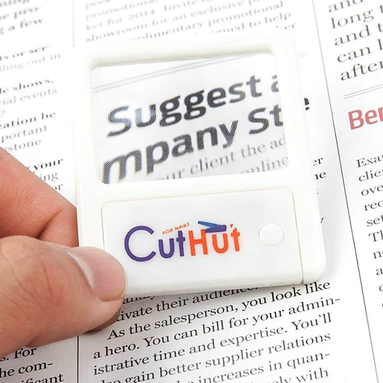 CutHut The Ultimate Nail Catcher Magnifier