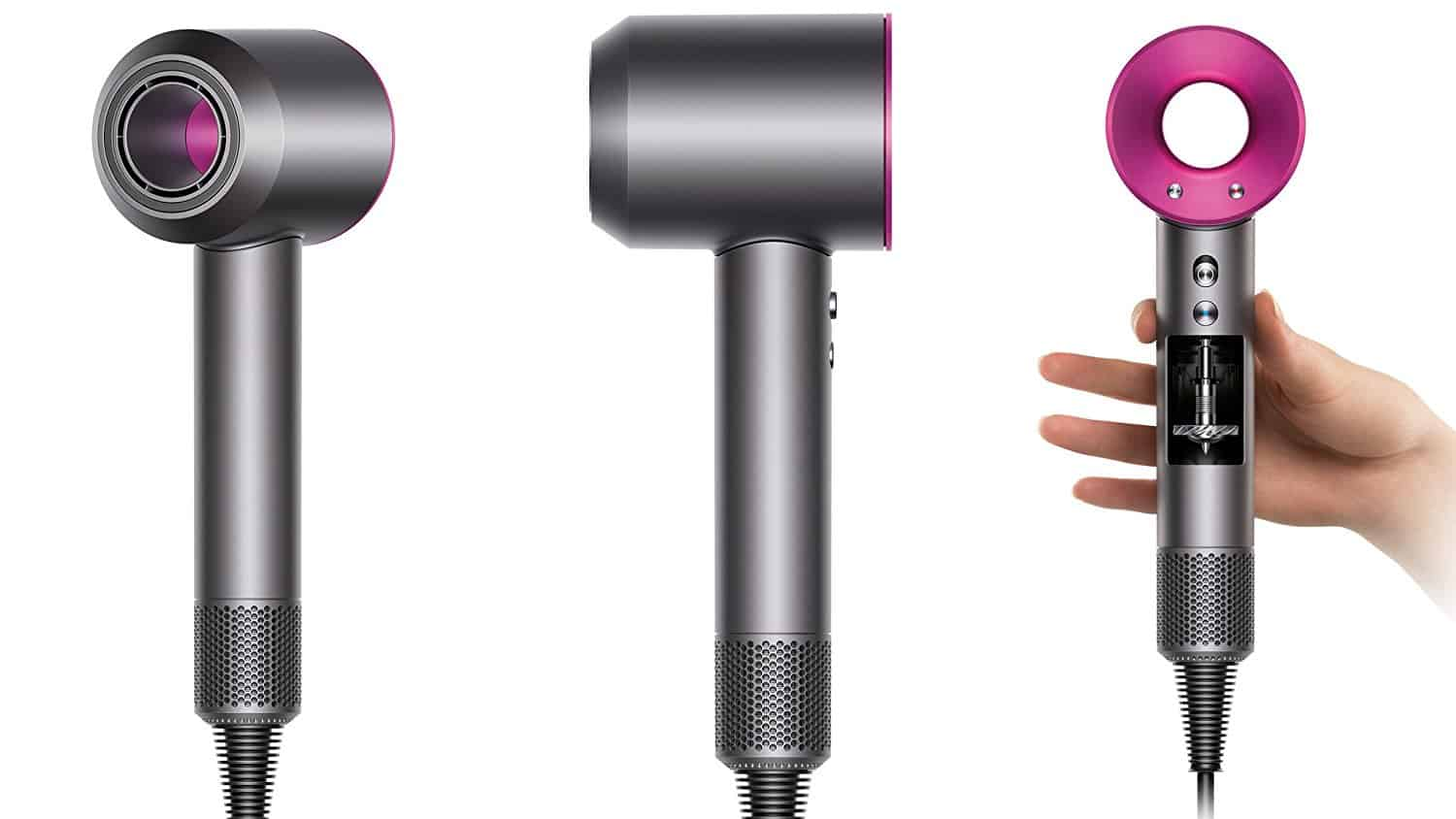 Dyson supersonic hair dryer fuchsia dyson air multiplier принцип работы