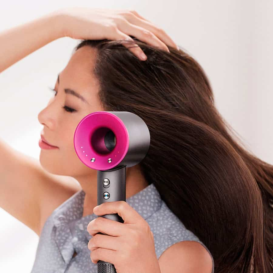 The humble hair dryer reinvented.