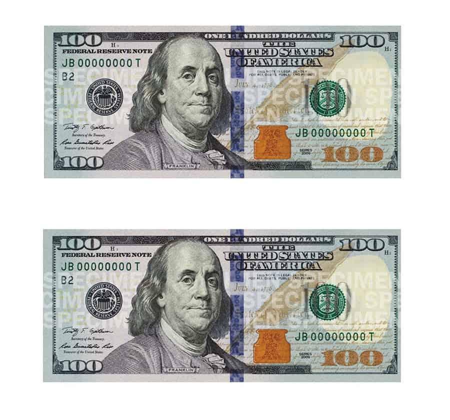 empire rolling 100 dollar bill rolling paper noveltystreet