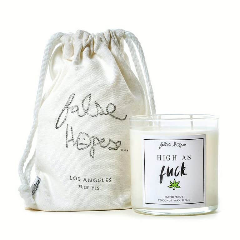 False Hopes High As Fuck Scented Candle Made to Order