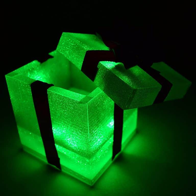 Glow City Light Up Gift Boxes Party Item