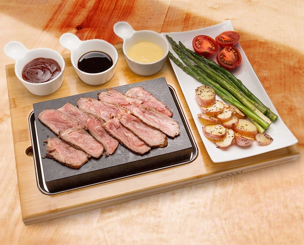 Good Cooking Tabletop Cooking Stone Firestone Steak