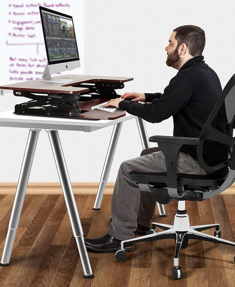 Halter ED-258 Elevating Desktop Stand Desk