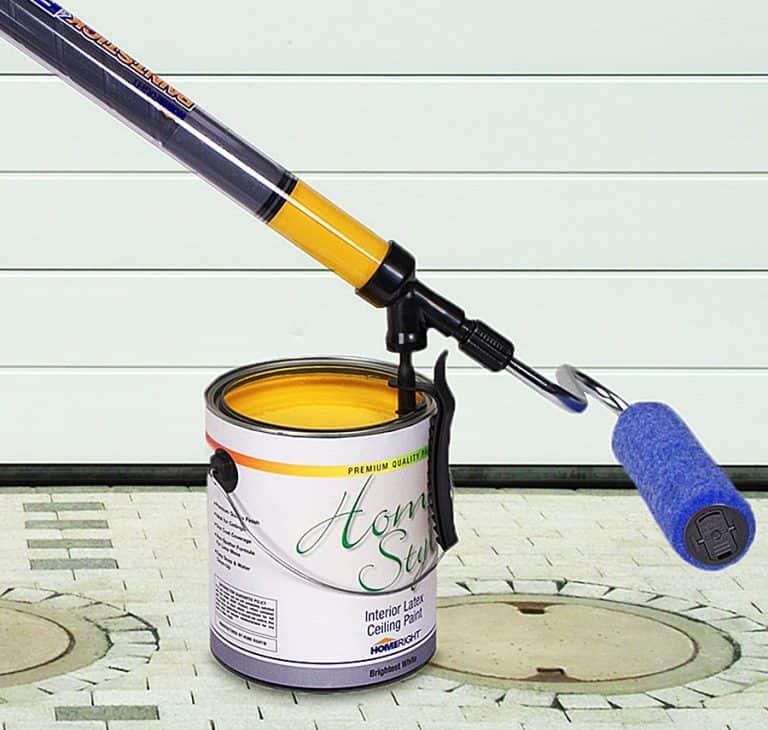 HomeRight PaintStick EZ-Twist Paint Roller Universal Clamp Fill Tube