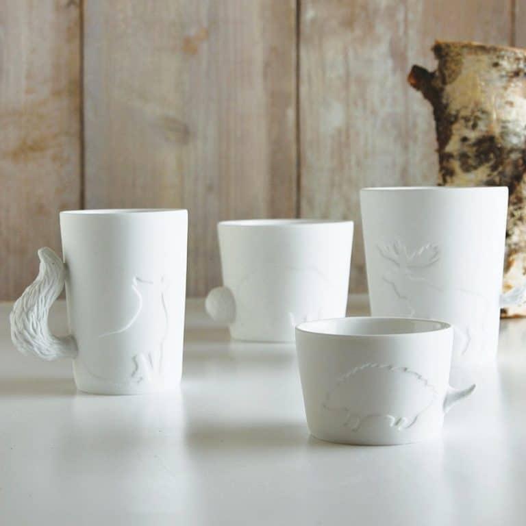 Kinto Mugtail Fox Mug Drinkwares