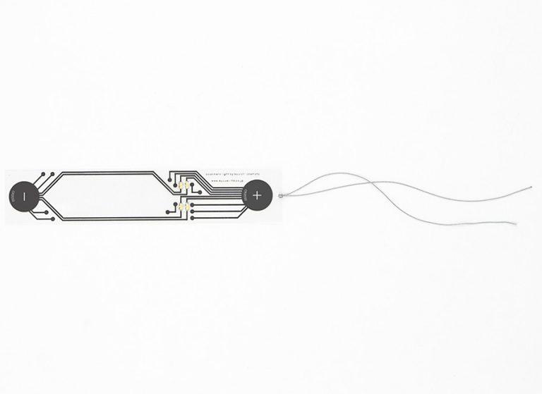 Kyouei Design Bookmark Light Lithium Coin Battery