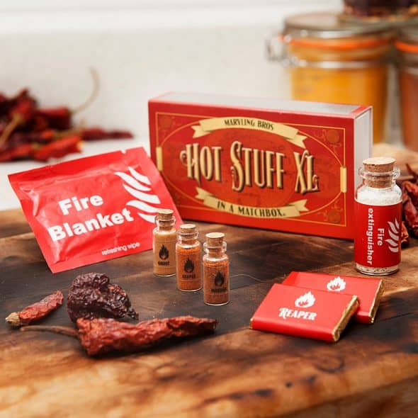 Marvling Bros Ltd Hot Stuff In A Matchbox Condiments