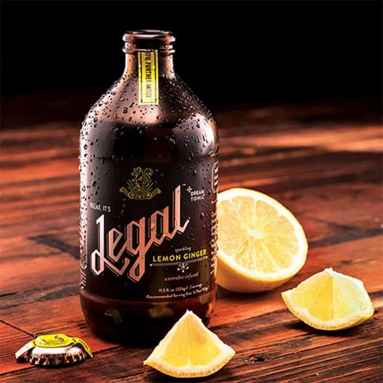 Mirth Legal Cannabis Tonic Fresh Lemon Ginger