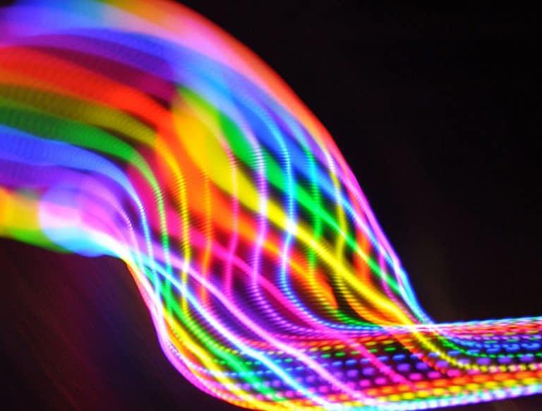 Moodhoops Neon LED Hoop Hoops