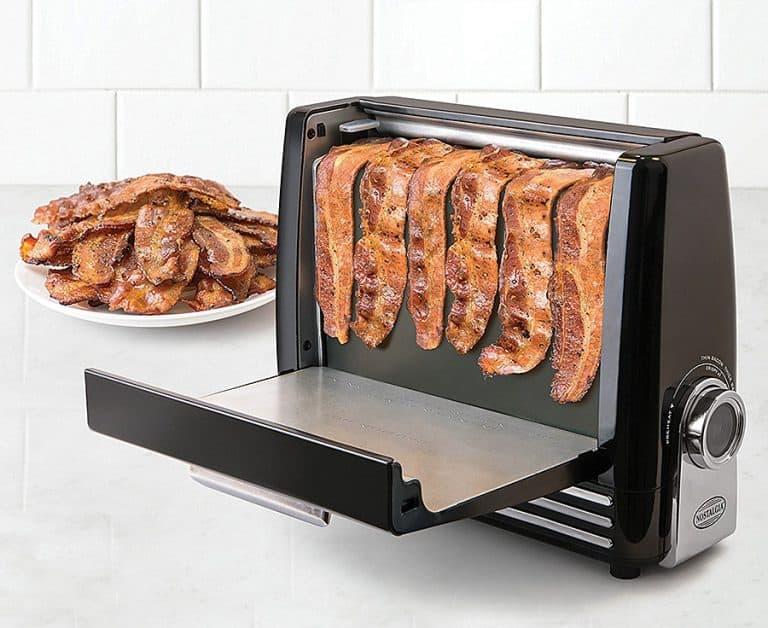 Nostalgia Bacon Express Crispy Bacon Grill Cooker