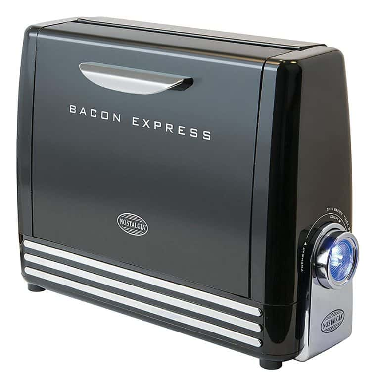 Nostalgia Bacon Express Crispy Bacon Grill Non Stick Cooking Plate
