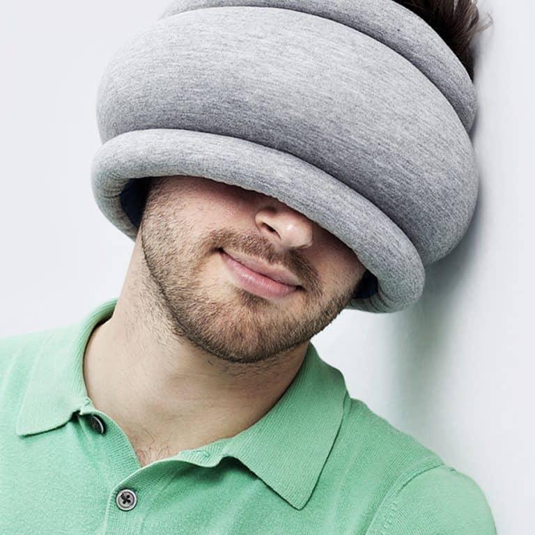 Ostrich Pillow Light Pillow Eye Mask