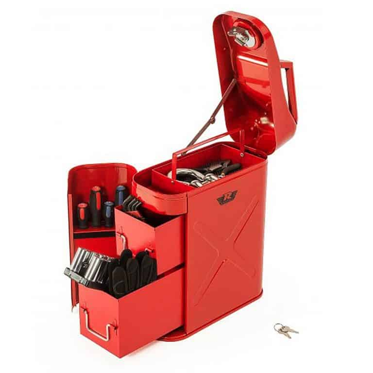 Rampage Trail Can Utility Tool Box Tool Kit