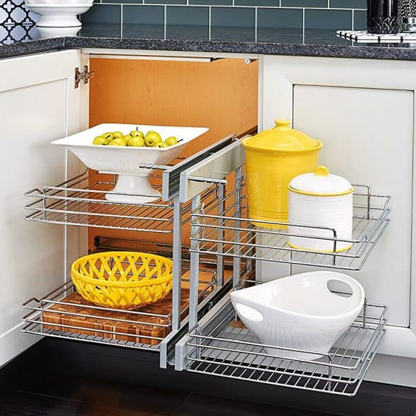 Rev-A-Shelf 5Psp Blind Corner Organizer Dish Rack