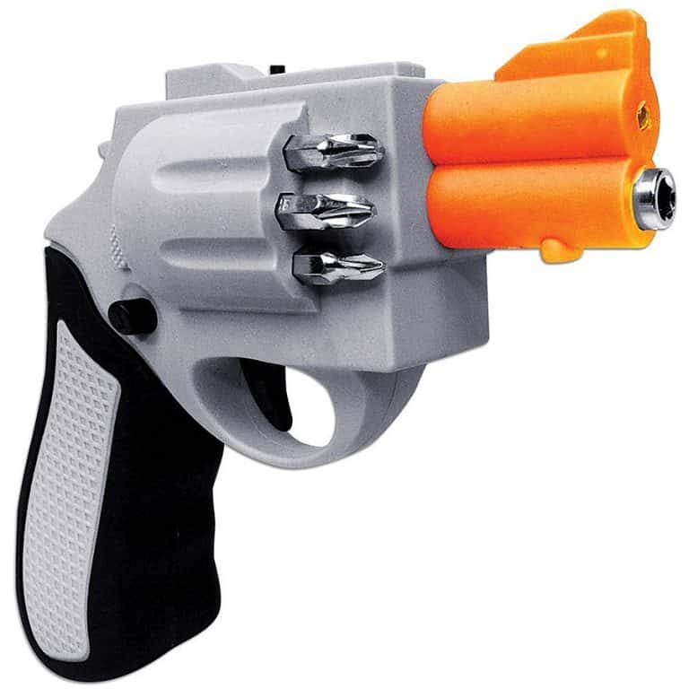 Revolver Shaped Screwdriver Drill Bits