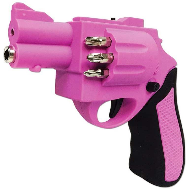 Revolver Shaped Screwdriver Tools