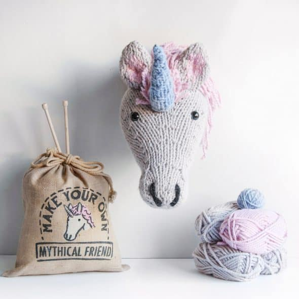 Mythical knitting.