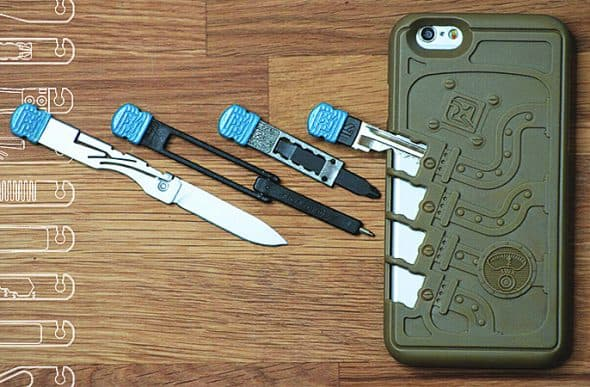 Stowaway Tools iPhone Case Boy Scout Gift