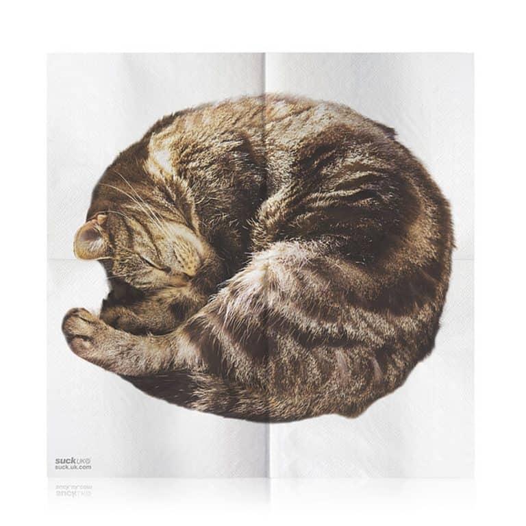 Suck UK Cat Napkins Feline Design