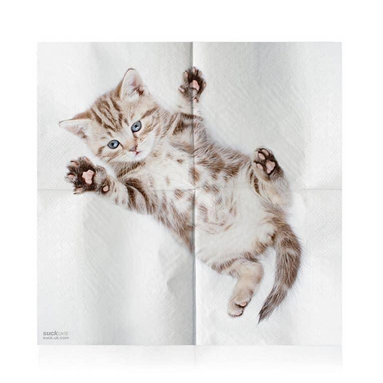 Suck UK Cat Napkins Novelty Item
