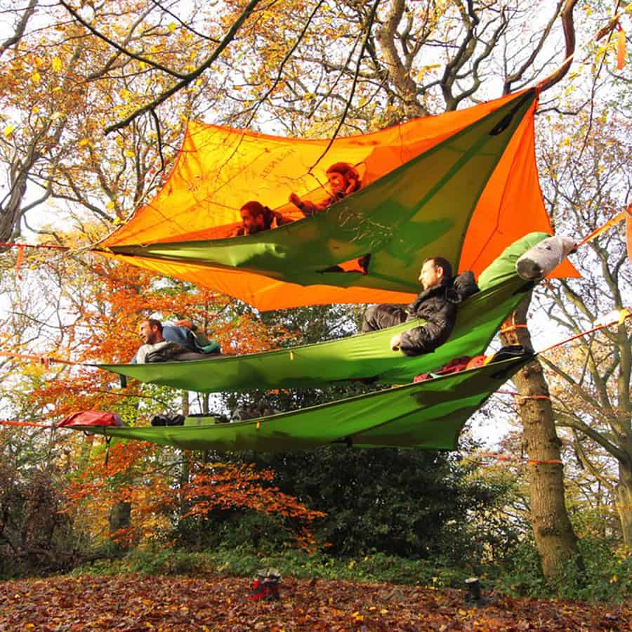 Triple the hammock, triple the space and triple the fun!