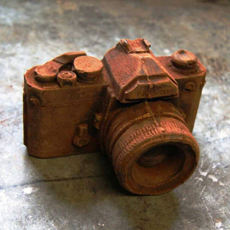 The Chocolate Workshop Full Size Chocolate Camera Vintage Analogue Camera