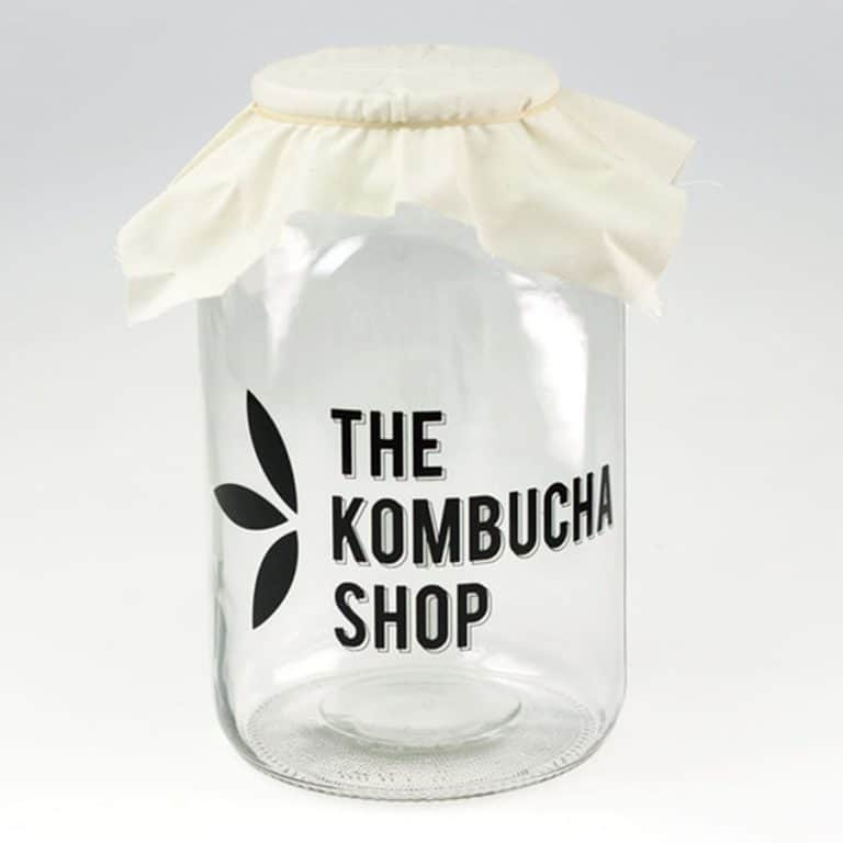 The Kombucha Shop Kombucha Brewing Kit Glass Jar