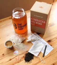 Keep healthy and brew your own kombucha.