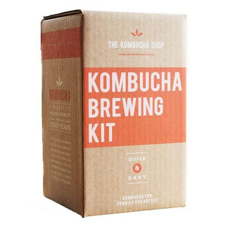 The Kombucha Shop Kombucha Brewing Kit Packaging Box