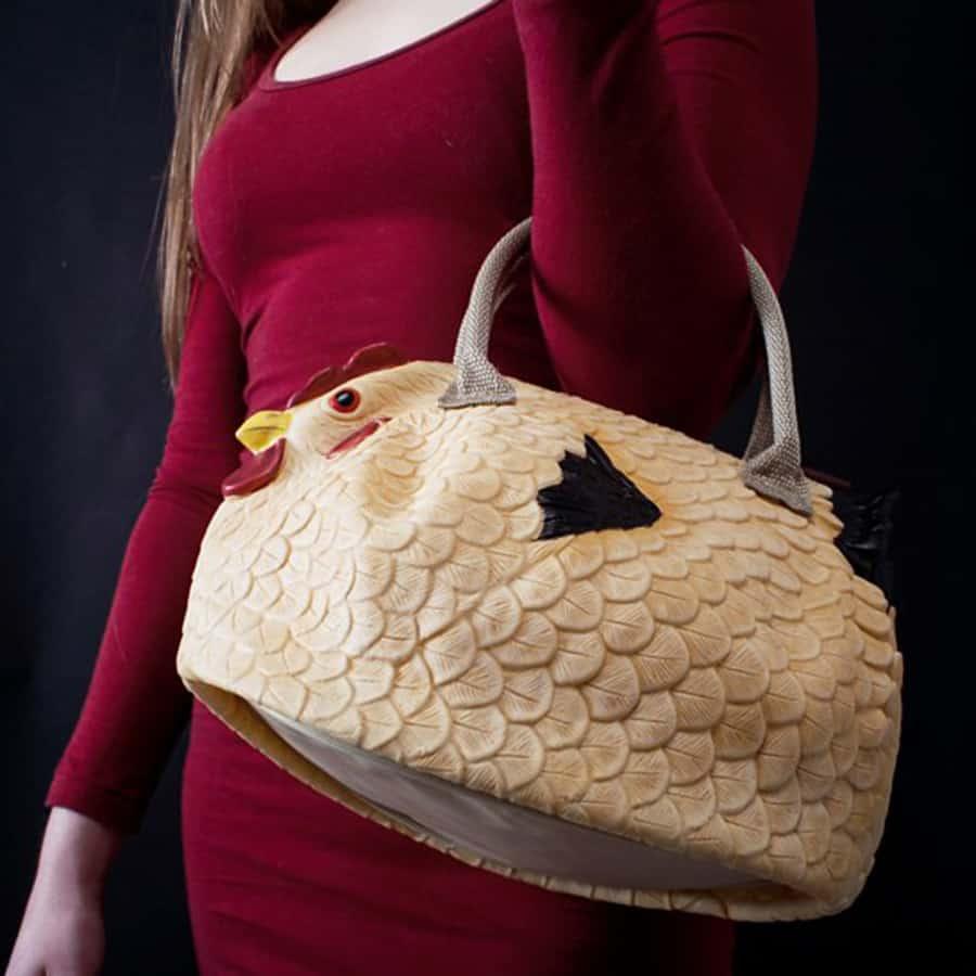 The Original Chicken Handbag Fowl Fashion