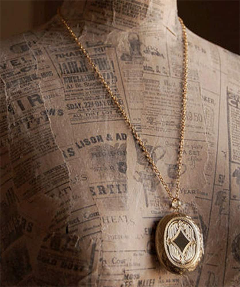 The Parlor Apothecary Zodiac Perfume Locket Necklace Jewelry