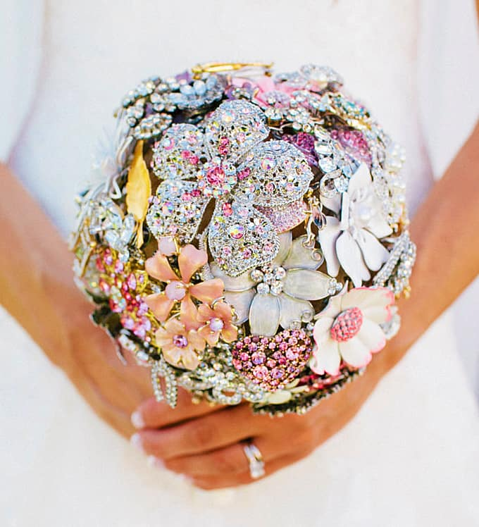 The Ritzy Rose Brooch Handcrafted Bouquet Wedding Must Have