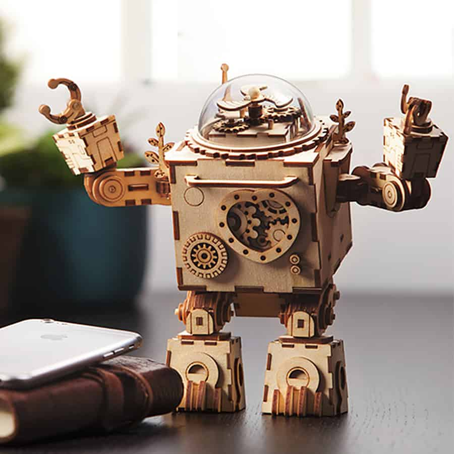 A robot worth listening to.