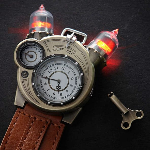 ThinkGeek Tesla Watch Steampunk