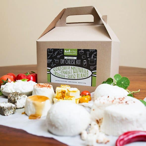 Urban Cheesecraft Deluxe DIY Cheese Kit Home Kits