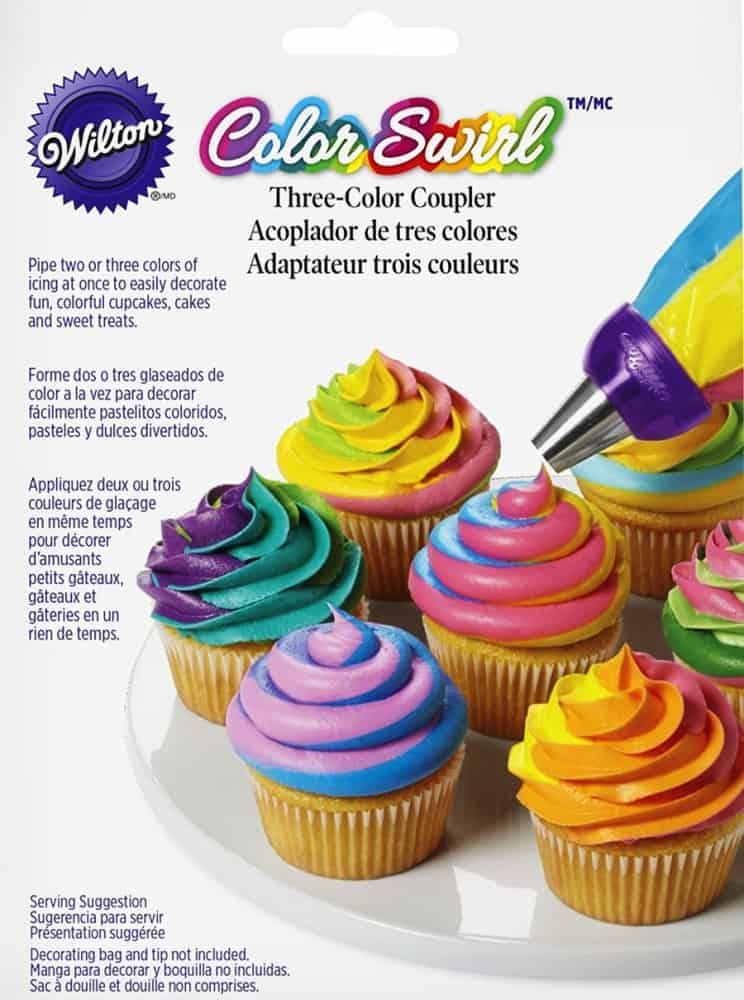 Wilton ColorSwirl 3 Color Coupler Product Package