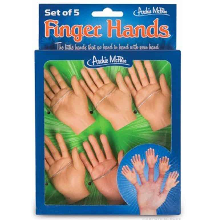 Accoutrements Finger Hands Puppets