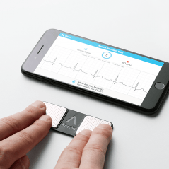 Accurate EKG on the go!