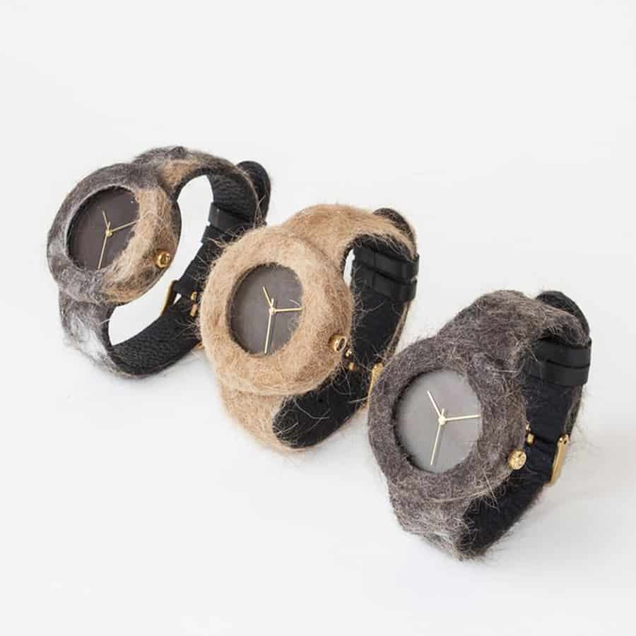 Analog Watch Co Animal Fur Watch Collection