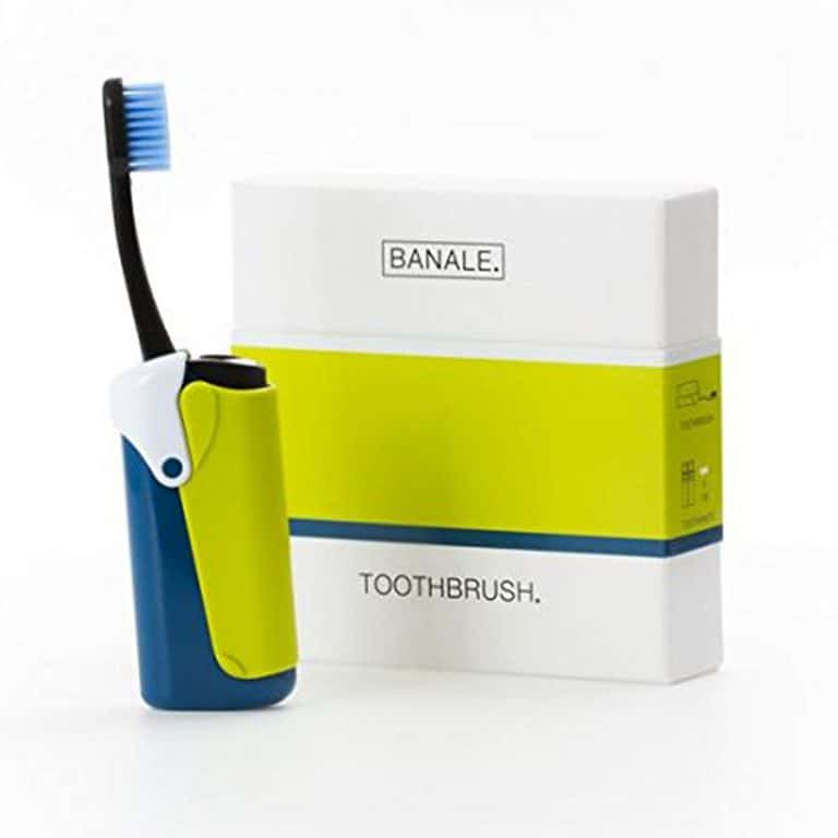 Banale 2in1 Travel Toothbrush Travelling Gadget