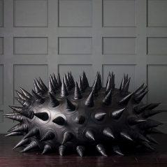 Spiky comfort.