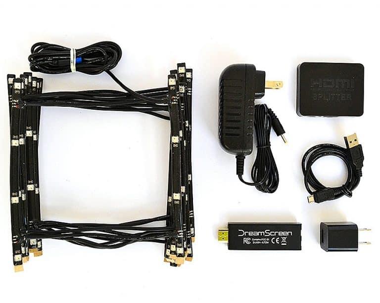 DreamScreen Responsive TV Backlighting Electricals