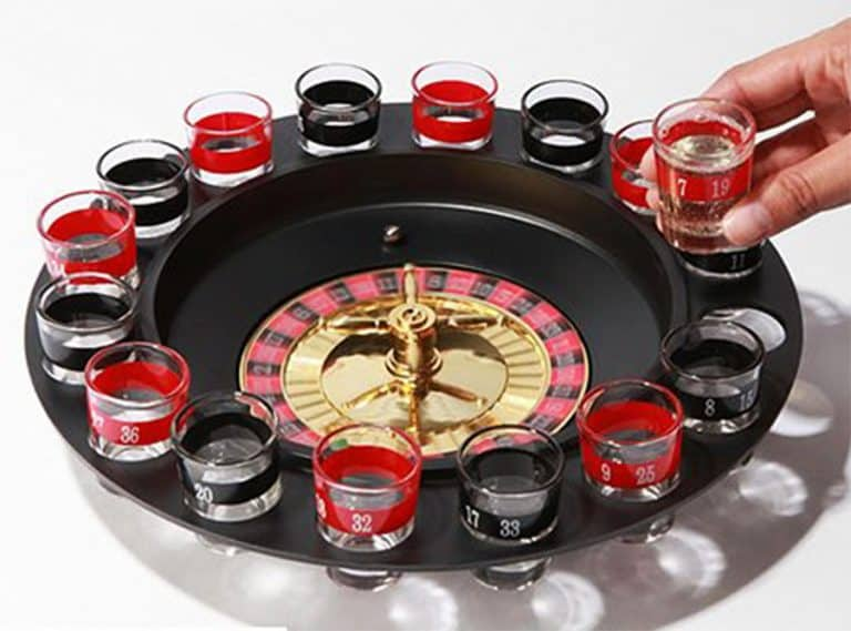Drinking Game Glass Roulette Shot Glasses