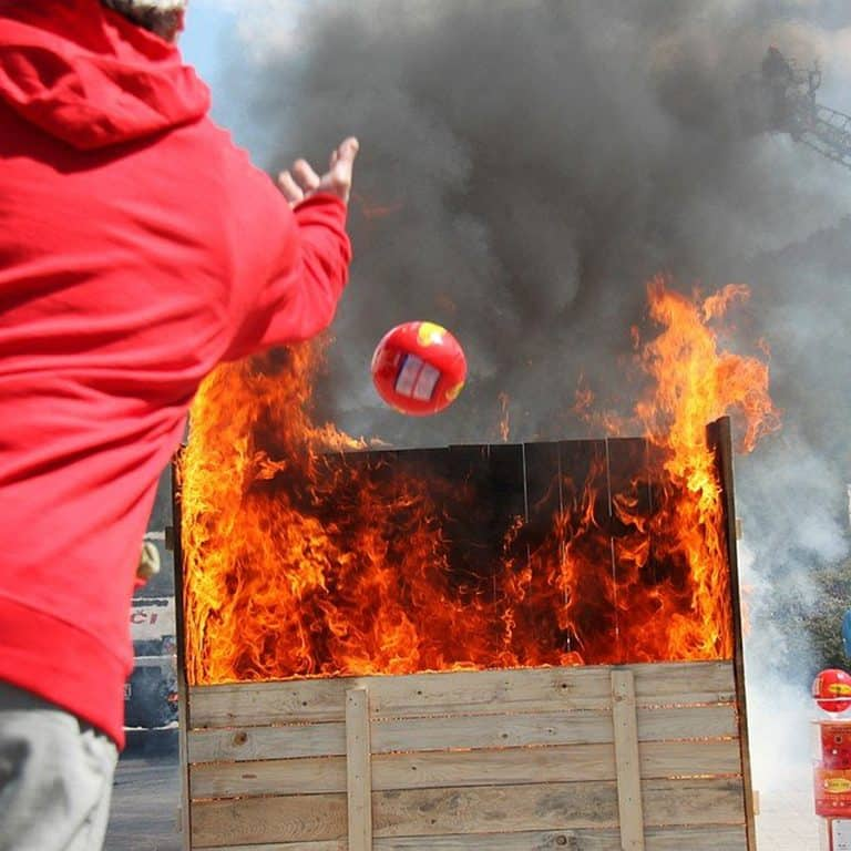 Elide Fire Extinguisher Ball Easy to Use