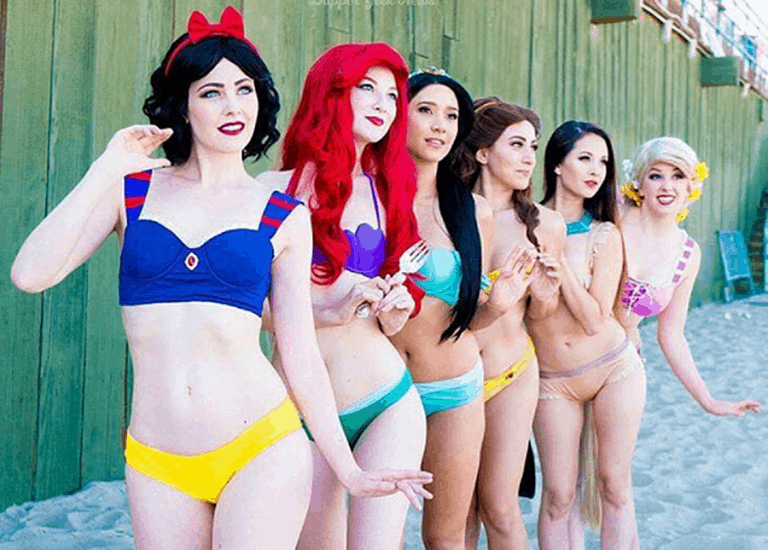 Enchanted Bikinis Disney Princesses Bikinis Collectibles