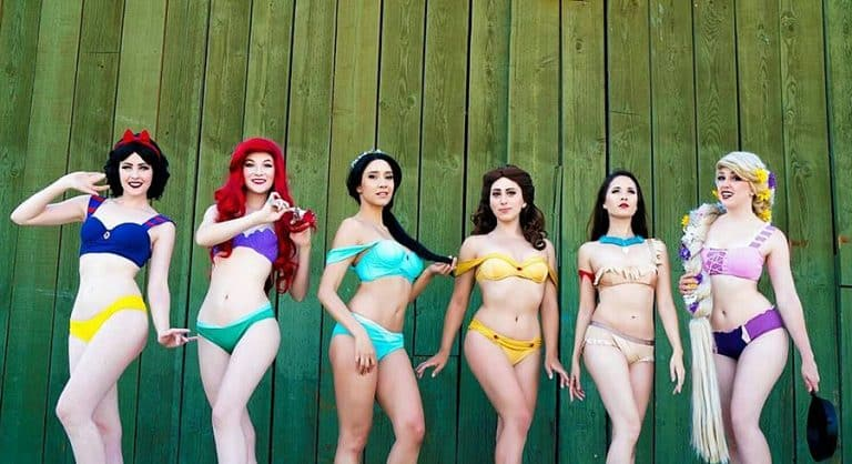 Enchanted Bikinis Disney Princesses Bikinis Swimsuits
